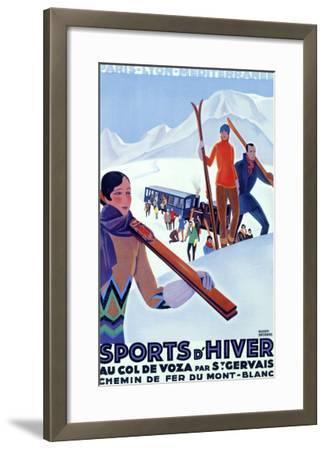 Mont Blanc, Sports d'Hiver