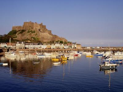 Mont Orgeuil Castle, Gorey, Jersey, Channel Islands, United Kingdom, Europe-Rolf Richardson-Photographic Print