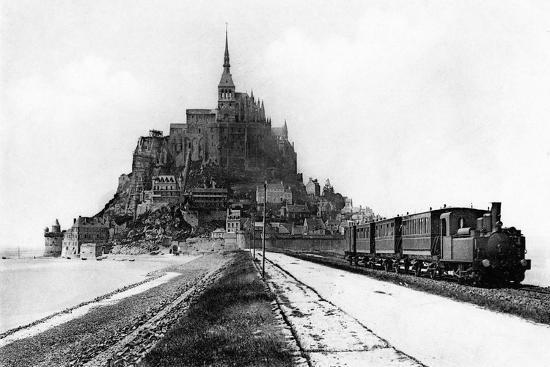 Mont-Saint-Michel, 20th Century-A L'Hermine-Giclee Print