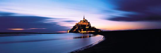 Mont Saint Michel France--Photographic Print