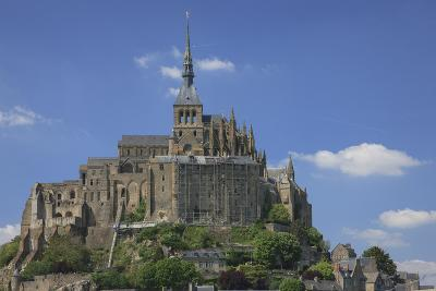 Mont Saint-Michel Is an Island Commune in Normandy, France-Mallorie Ostrowitz-Photographic Print