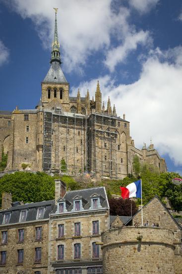 Mont Saint-Michel, Normandy, France-Brian Jannsen-Photographic Print