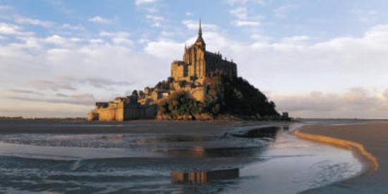 Mont Saint-Michel-Bruno Morandi-Art Print