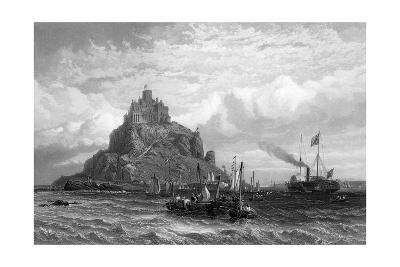 Mont Saint-Michel-Clarkson Stanfield-Giclee Print