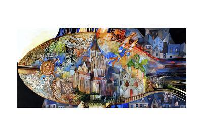 Mont Saint Michel-Oxana Zaika-Giclee Print