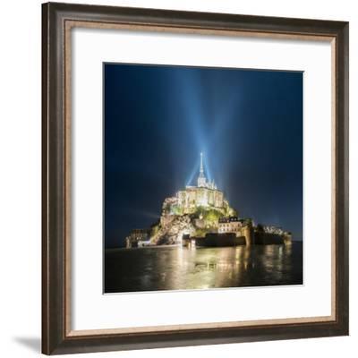 Mont Saint Michel-Philippe Manguin-Framed Photographic Print