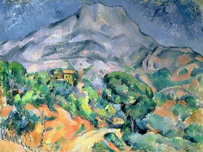 Mont Saint Victoire, 1900-Paul C?zanne-Giclee Print
