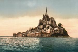 Mont St. Michel at High Tide