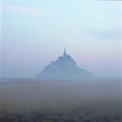 Mont-St-Michel in the Mist Normandy France-Joe Cornish-Photographic Print