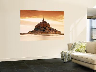 Mont St. Michel, Manche, Normandy, France-Doug Pearson-Wall Mural
