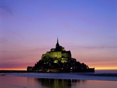 Mont St. Michel, Normandy, France-Steve Vidler-Photographic Print