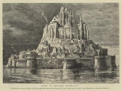Mont St Michel, Normandy-Henry William Brewer-Giclee Print