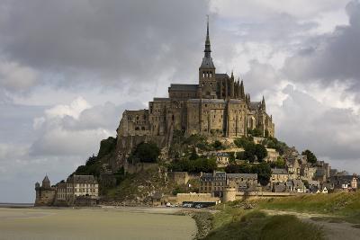 Mont St Michel, Normandy-David Churchill-Photographic Print