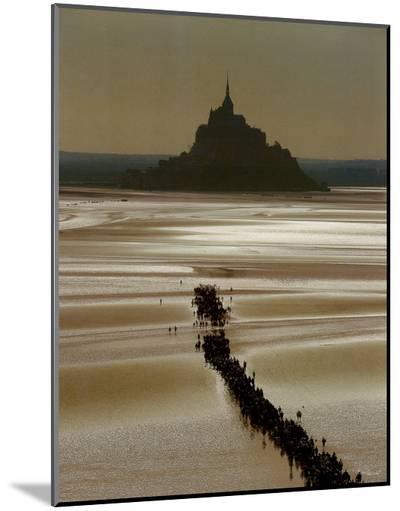 Mont St. Michel-Philip Plisson-Mounted Print