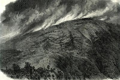 Mont Vuache Switzerland, 1870, Haute Savoie Fire Mountain--Giclee Print