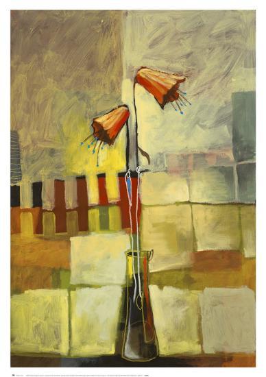 Montage Bloom I-Adam Finli-Art Print