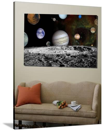 Montage of Images Taken by the Voyager Spacecraft--Loft Art