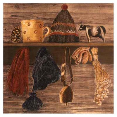 Montagne, la Clarine-Laurence David-Art Print