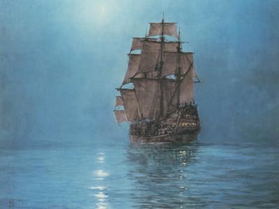 Crescent Moon by Montague Dawson