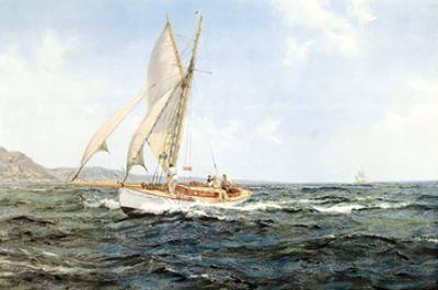 Fine Weather and a Fair Wind by Montague Dawson