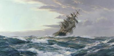 Glory of the Seas by Montague Dawson
