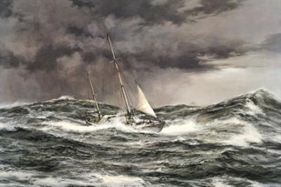 Horn Abeam, Sir Francis Chichester's Yacht, 'Gypsy Moth IV'