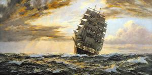 The Golden West - The 'Pamir' by Montague Dawson