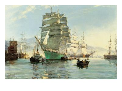 The Thermopylae Leaving Foochow