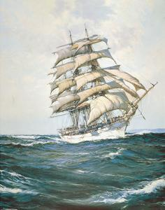 The White Clipper by Montague Dawson