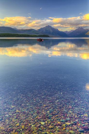 Montana, Glacier National Park. Lake Macdonald Landscape-Jaynes Gallery-Photographic Print