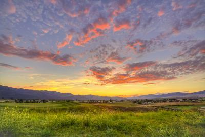 Montana, Missoula. Sunset on Ranch Club Golf Course-Jaynes Gallery-Photographic Print