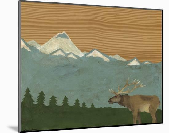 Montana Sky II-Vanna Lam-Mounted Print