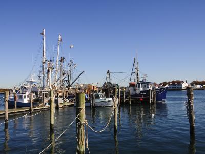 Montauk Harbour, Montauk, Long Island, New York State, United States of America, North America-Robert Harding-Photographic Print