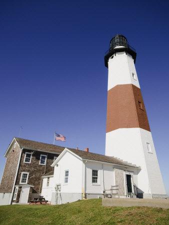 Montauk Point Lighthouse, Montauk, Long Island, New York State, USA-Robert Harding-Photographic Print