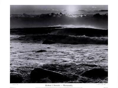 Montauk Surf-Richard Nowicki-Art Print