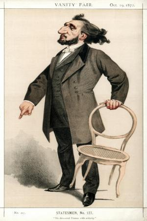 He Devoured France with Activity, Leon Gambetta, French Statesman, 1872