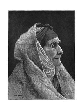 Old Jewish Woman of Cairo, Egypt, 1882