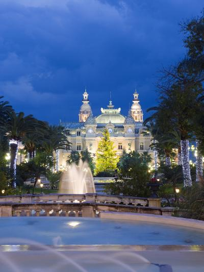Monte Carlo Casino, Monte Carlo, Principality of Monaco, Cote D'Azur, Europe-Christian Kober-Photographic Print