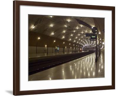 Monte Carlo Railway Station, Monaco-Ethel Davies-Framed Photographic Print