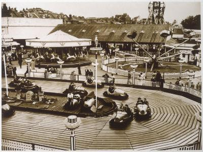 Monte Carlo Rally' Electric Car Ride at Dreamland, Margate--Photographic Print