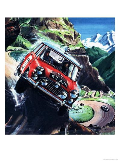 Monte Carlo Rally--Giclee Print