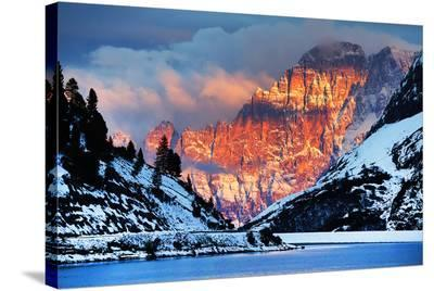 Monte Civetta Dolomites Italy--Stretched Canvas Print