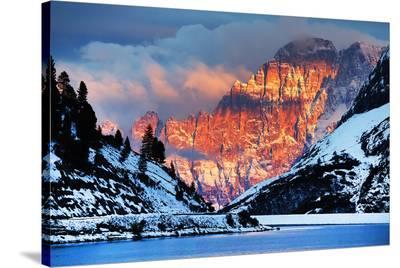 Monte Civetta Dolomites Italy--Stretched Canvas Print