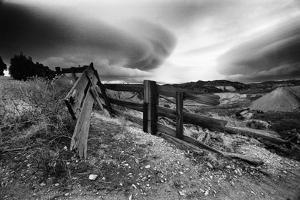 Broken Fence, Virginia City, Nevada 74 by Monte Nagler
