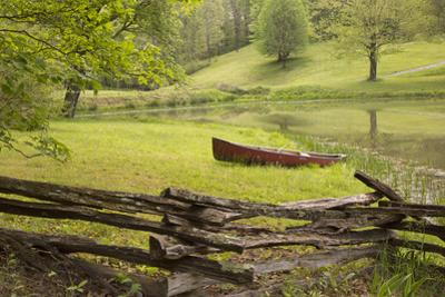 Canoe & Fence
