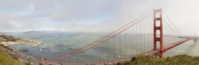 Golden Gate Panorama, San Francisco, California '11 by Monte Nagler