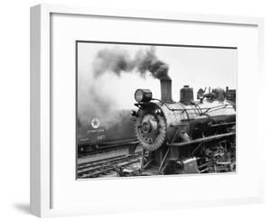 Locomotive, Ohio 85 by Monte Nagler