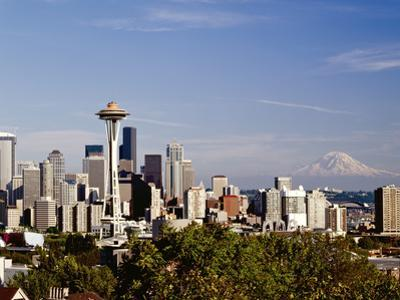 Seattle Cityscape, Seattle, Washington by Monte Nagler