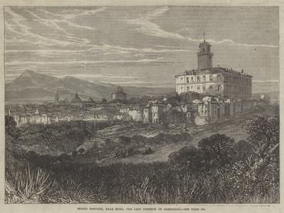 Monte Rotondo, Near Rome, the Last Position of Garibaldi--Giclee Print