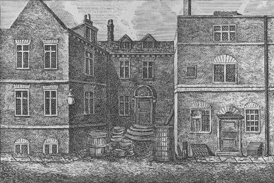 Monteagle House, Near St. Saviours Church, Southwark, 1808, (1912)-J Pass-Giclee Print